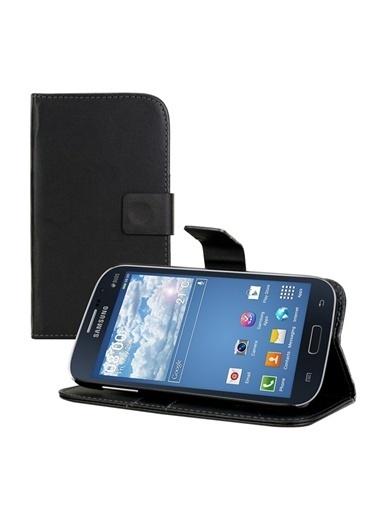 Microsonic Cüzdanlı Standlı Deri Kılıf - Galaxy Grand Neo İ9060 İ9062 Siyah Renkli